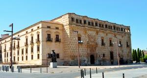 Infantado宫殿瓜达拉哈拉西班牙 免版税库存照片