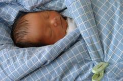 Infante addormentato Fotografia Stock Libera da Diritti