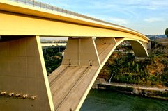 Infante bridge over Douro river in Oporto stock photos