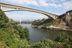 Infante bridge in Porto, Portugal Stock Photos