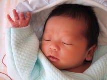 Infante de sono Foto de Stock