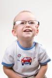 Infante in occhiali Immagini Stock Libere da Diritti