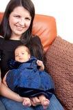 Infante recém-nascido Fotos de Stock Royalty Free