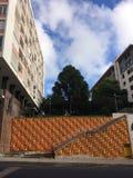 Infante Santo Avenue Royalty Free Stock Photos