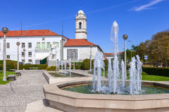 Infante Santo Square. Royalty Free Stock Photography