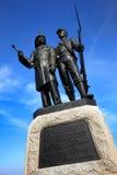 Infanterie Gettysburg Nationalpark-73. NY feuern an zweiter Stelle Zouaves ich ab lizenzfreie stockbilder