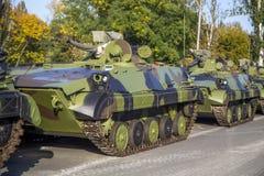 Infanterie het vechten voertuigen Royalty-vrije Stock Afbeelding