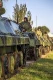 Infanterie-Kampffahrzeug der serbischen bewaffneten Kräfte Stockbild