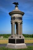 Infanterie nationale Memoria de New York de parc soixante-et-onzième et soixante-douzième de Gettysburg images stock