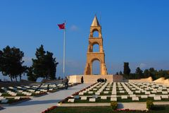 57. Infanterie-Regiment-Denkmal, Gallipoli Lizenzfreies Stockfoto