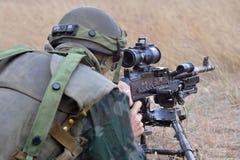 Infanterie roumaine Image libre de droits