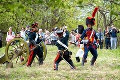 Infanterie russe Photographie stock libre de droits