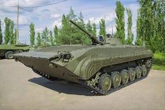 Infanterie soviétique BMP-1 de voiture de combat, produite à partir de 1966 Images libres de droits