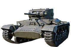 Infanterietank Mk III geïsoleerd Valentine VI Stock Afbeeldingen