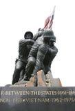Infantes de marina conmemorativos foto de archivo