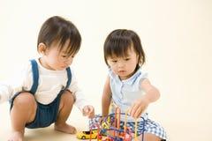Infanti giapponesi Immagini Stock