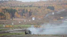 Infantry combat vehicle stock footage
