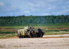 Infantry combat vehicle Royalty Free Stock Photography