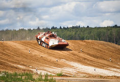 Infantry combat vehicle Stock Images