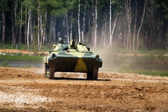Infantry combat vehicle Royalty Free Stock Photos