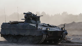 INFANTRY FIGHTING VEHICLE. Armoured infantry fighting vehicle MARDER Stock Images