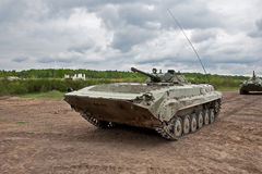 Infantry fighting vehicle Royalty Free Stock Image