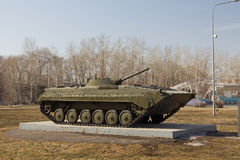 Infantry fighting vehicle Royalty Free Stock Photos