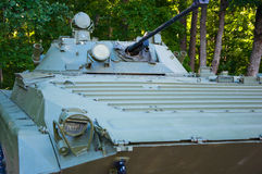 An infantry fighting vehicle. Royalty Free Stock Photo