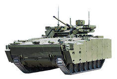 Infantry fighting vehicle royalty free stock photo