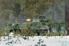 Infantry fighting vehicle Stock Image