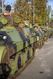 Infantry Fighting Vehicles of the Serbian Armed Forces Stock Images