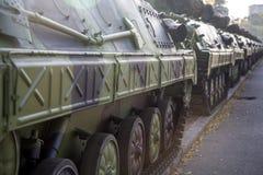 Infantry Fighting Vehicles Stock Photo