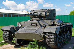 Infantry tank Mk.III Valentine VI Stock Photo