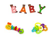 Infants toy Stock Image
