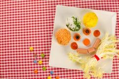 Infantylny lunch zdjęcia royalty free