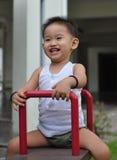 Infanzia asiatica felice Fotografie Stock