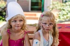 Infanzia felice dei bambini adorabili Fotografia Stock