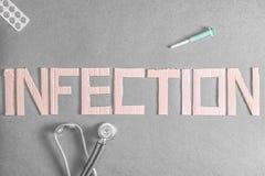 infecção Imagens de Stock Royalty Free
