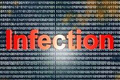 infección Fotografía de archivo