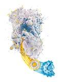 Infección viral del VIH Imagen de archivo libre de regalías