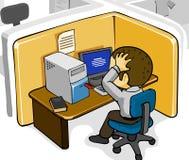 Infectado por Viruses Imágenes de archivo libres de regalías