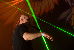 Infected Mushroom in Concert Royalty Free Stock Images