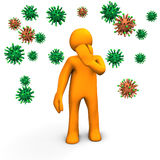 Infection Hazard Royalty Free Stock Images