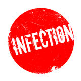 Infection rubber stamp Royalty Free Stock Photography