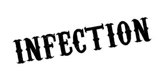 Infection rubber stamp Stock Photo