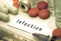 infekcja zdjęcie stock