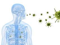infekcja wirus Zdjęcie Royalty Free