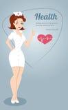 infermiera royalty illustrazione gratis