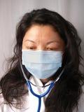Infermiera femminile Fotografia Stock