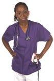 Infermiera medica Fotografia Stock